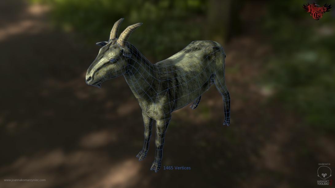 Goat_wireframe