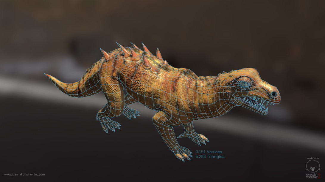 New Lizard Wireframe