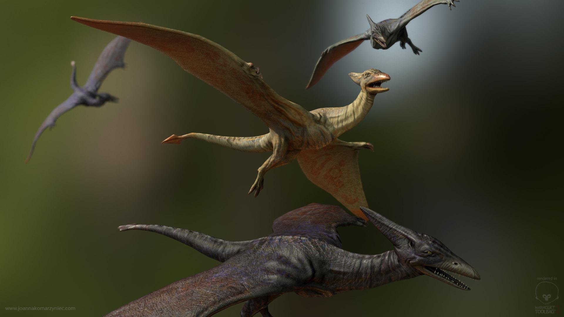 Pterodactyl Joanna Komarzyniec Character Artist